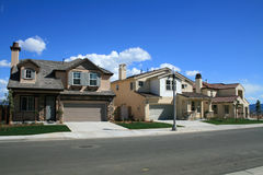 Free Row Of New Homes Royalty Free Stock Photography - 4613707