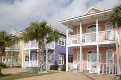 Free Row Of  New Wooden Houses Stock Photo - 64593790