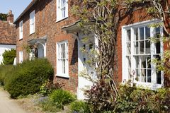 Free Row Of Old Houses In England Stock Image - 124216981