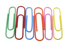Free Row Of Paper Clips Royalty Free Stock Photo - 6887955