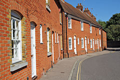 Free Row Of Red Brick Kent Cottages Royalty Free Stock Photo - 26503575