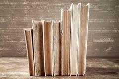 Row of old books Stock Photos