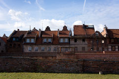 Buildings of Torun Royalty Free Stock Photography