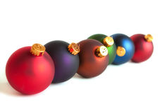 Row of ornaments Royalty Free Stock Images