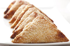Row of Pastries Royalty Free Stock Photography