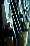 Row of pay phones Stock Photography