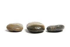 Row of Pebbles Royalty Free Stock Image