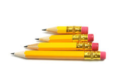 Row of Pencils Royalty Free Stock Photos