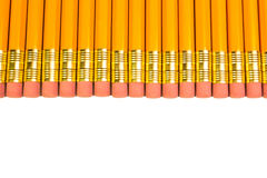 Row of pencils Stock Image
