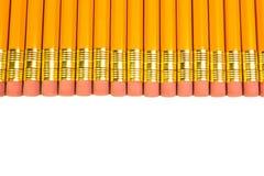 Row of pencils Stock Image