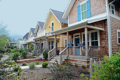 Row of Porches Royalty Free Stock Photography