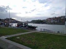 Row in porto Stock Images