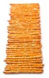 Row Of Pretzel Stick II Stock Images