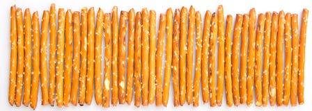 Row Of Pretzel Stick IV Stock Image