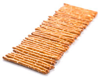 Row Of Pretzel Stick VI Stock Photography