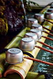 Japanese purification ladles Royalty Free Stock Photography