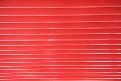 Row of red beams Stock Image