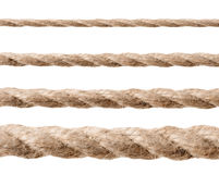 Row of ropes Royalty Free Stock Image
