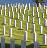 Military Cemetery, California stock images