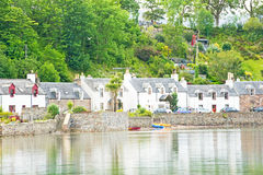 A row of Seaside Cottages. Stock Photography