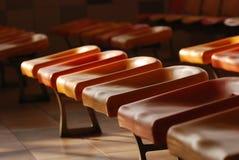 Row of seat Stock Photos