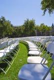 Row seating royalty free stock image