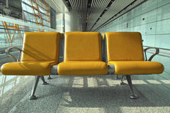 Row of seats Stock Photography