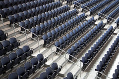 Row of Seats  in Ford center Stock Images
