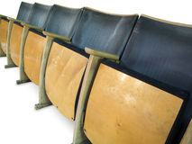 Row of seats Royalty Free Stock Image