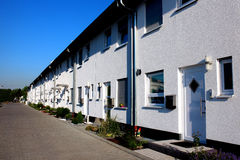 Row Serial houses Royalty Free Stock Image