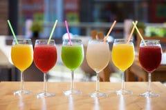 Slush drink view Stock Images