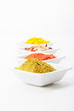 Row of spices Stock Image