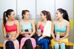 Sportswomen stock photos