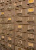 Row of steel lockers Stock Images
