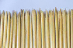 Row of stick bamboo Royalty Free Stock Photography