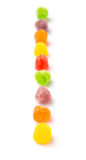 Row Of Sugar Jelly Candy III Stock Images