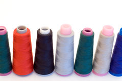 Row of Thread Royalty Free Stock Photography
