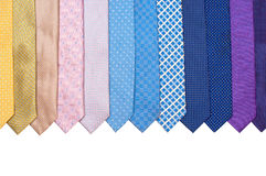Row Of Ties Stock Images