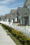 Row of Town Homes Stock Photography
