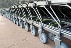 Trolleys Stock Photography