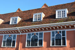 Row of Tudor Windows Stock Photography
