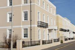 Row of Urban Houses Royalty Free Stock Photo