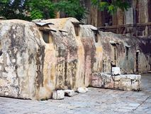 Old Monks Cells, Orthodox Monastery, Israel Stock Image