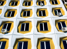 Row of windows Royalty Free Stock Image