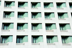 Row of windows Stock Photos