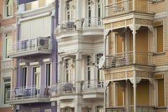 Decorated facades Stock Photos