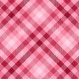 różowa szkocka krata Obrazy Stock