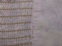 Różowa tkanina w fałdzie Fotografia Stock