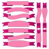 różowa wstążka Obraz Stock