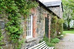 Rowallane-Garten Nordirland lizenzfreie stockfotografie